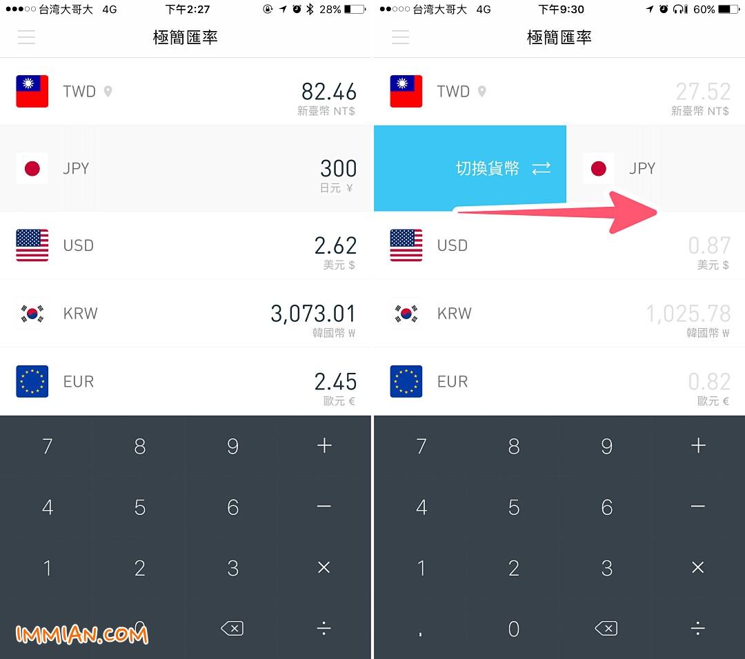 又美又好用的「匯率換算」app,一次玩日本,玩韓國,玩歐洲就靠它 - 巷子裡的生活