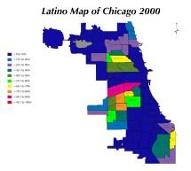 Hispanic Neighborhood Chicago Maps