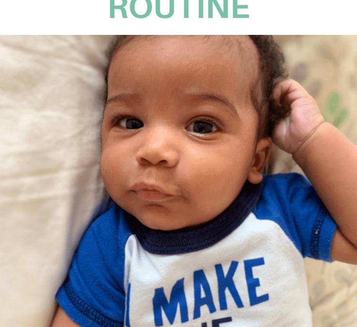 3-6 Months Baby Schedule