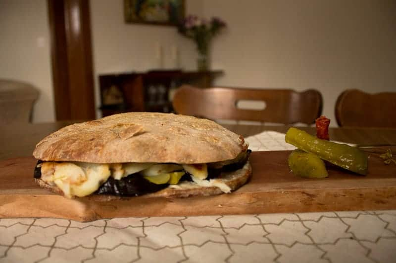 sabich sandwich whole