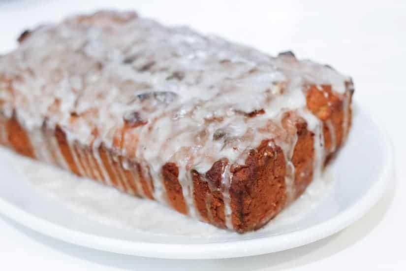 Vegan spiced apple butter cake 10