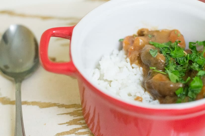Hearty tomato mushroom stew 13