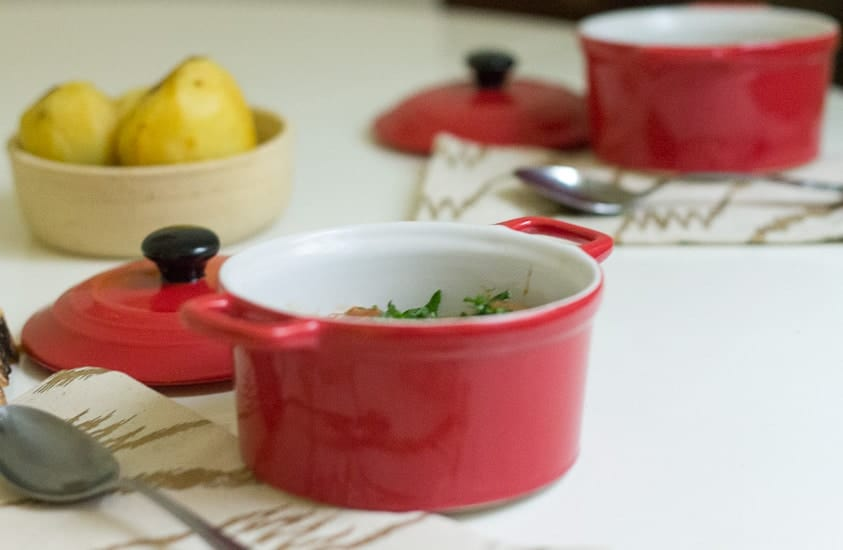 Hearty tomato mushroom stew 8