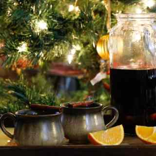 Russian mulled wine (Glintvein), or the perfect drink for the festive season