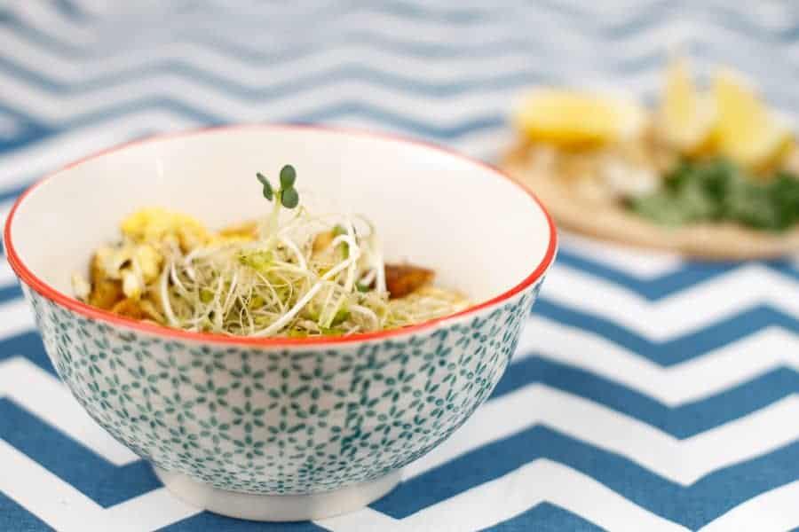 vegetarian paleo pad thai