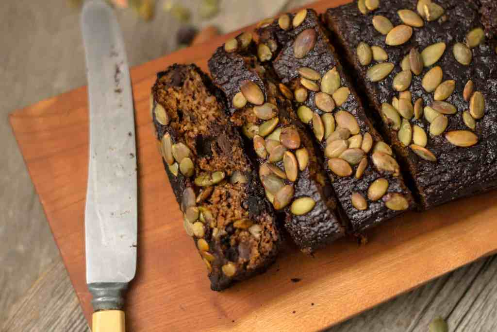 Flourless pumpkin bread