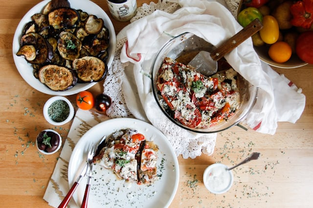 At the Immigrant's Table: Cold moussaka