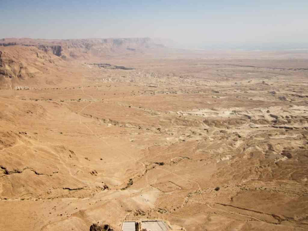 Traipsing through Israel