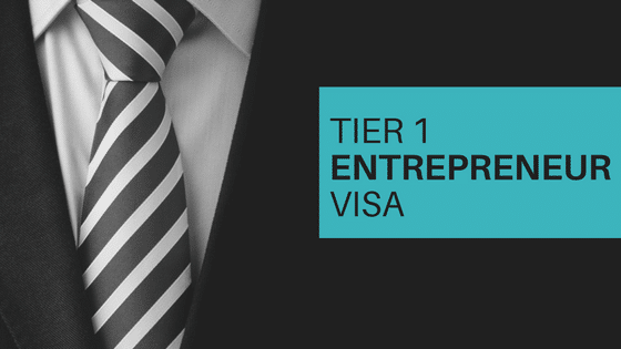 Tier 1 Entrepreneur application