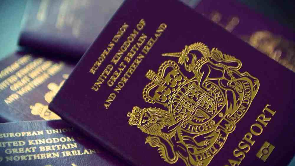 UK online passport renewal