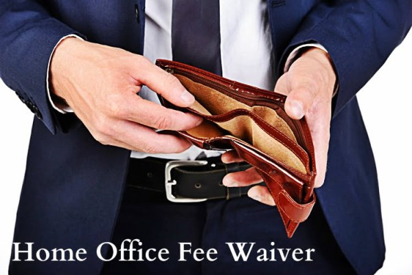 Home Office Fee Waiver