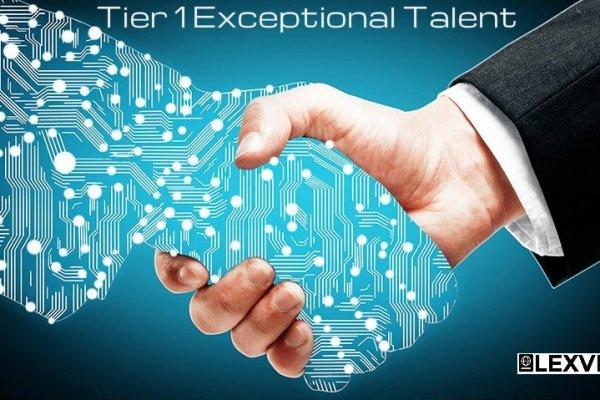 Tier 1 Exceptional Talent Visa