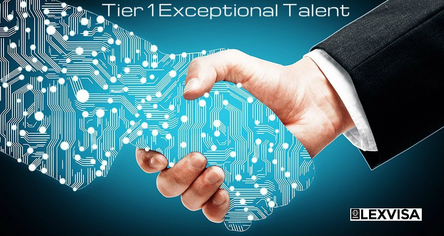 Tier 1 Exceptional Talent Visa