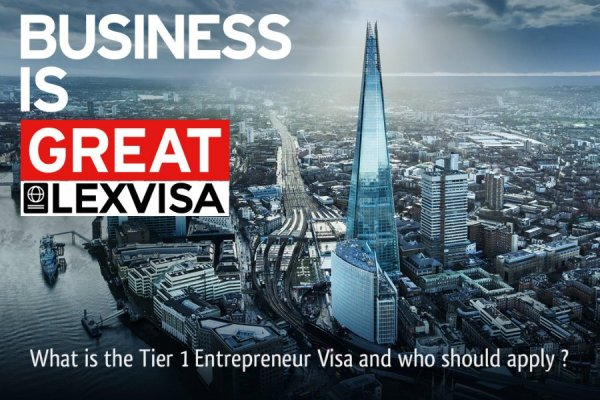 Tier 1 Entrepreneur Visa Immigration Lawyers London UK