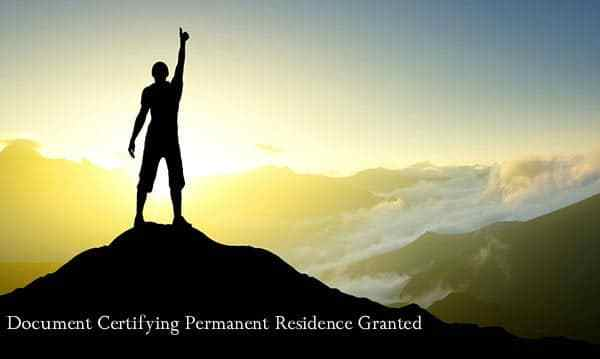 Success Story – EEA Document Certifying Permanent Residence Granted