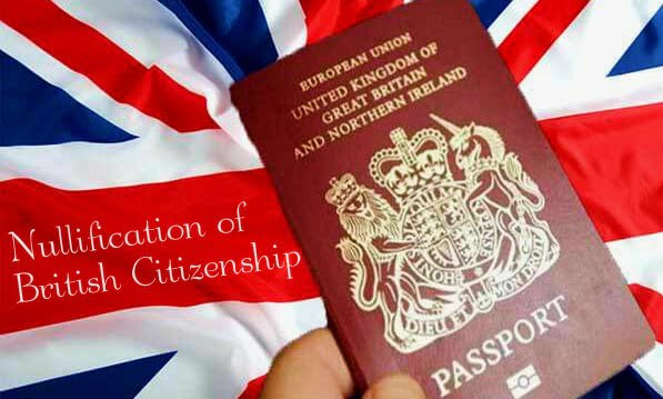 Nullification of British Citizenship