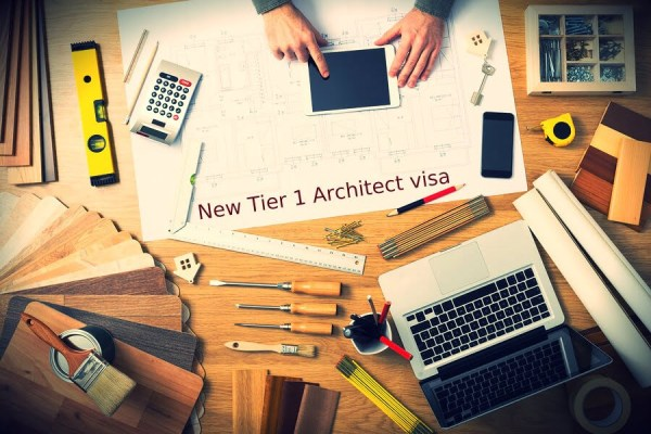 New Year New Tier 1 Architect visa under the Tier 1 Exceptional Talent visa