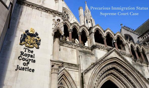 Precarious Immigration Status Supreme Court Case