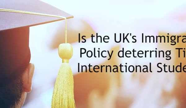 Is the UK's Immigration Policy deterring Tier 4 International Students?