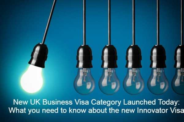 New Entrepreneur Visa Launched Today: What you need to know about the new Tier 1 Innovator Visa