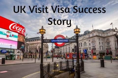 UK Visit Visa Success Story