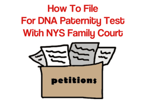 filing a paternity test in nys