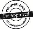 Pre Approved HR Certification Institute