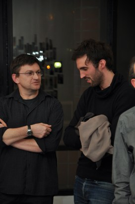 Bernard Demenge (gauche) et Thomas Rigade (droite)