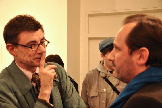 Wilfrid Estève et Daniel Barroy, du Ministére de la Culture