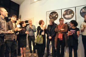 De g à dr Carlo Werner, MaoTao, David Fank; Anna Tolila, Bruno Dubreuil, Florence Chevallier, Yves Trémorin, Jean-Claude Bélégou, Véronique Ellena