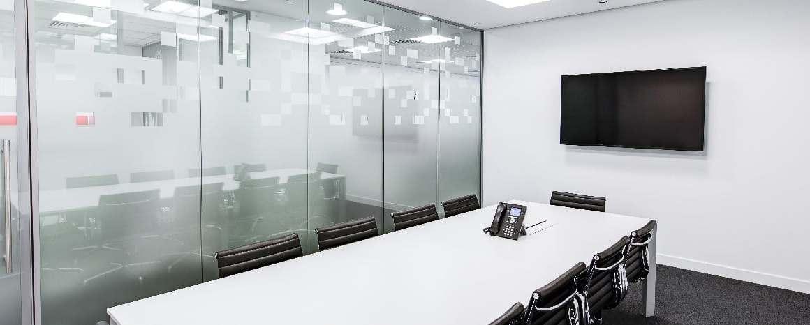 Salle de signature dans une agence
