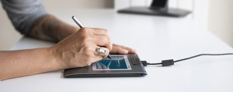 Signature avec la tablette ImmoSign