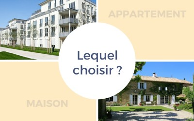 Appartement ou maison : lequel choisir ?