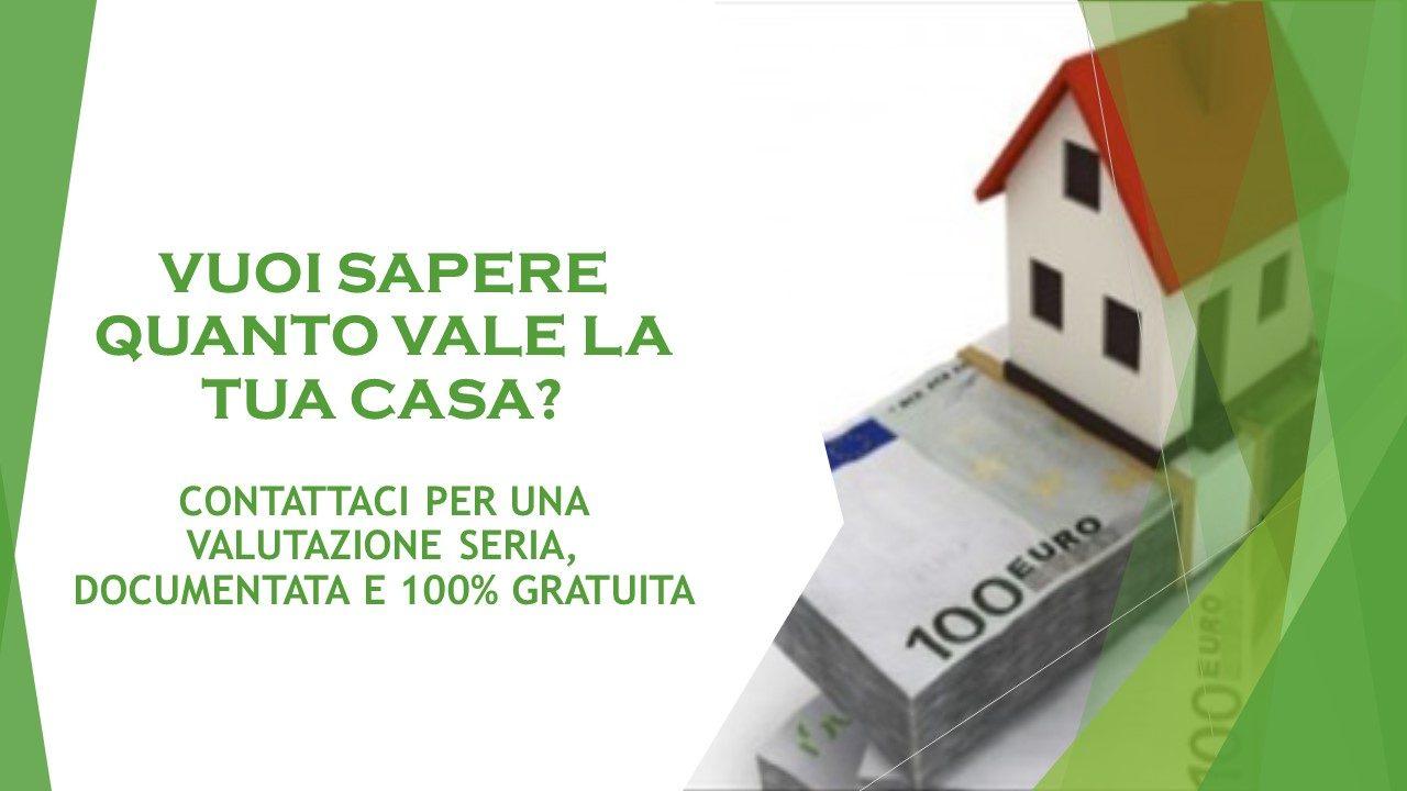 Scopri quanto vale la tua casa
