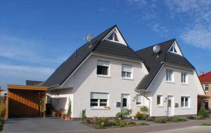 DHH-Sonnenseite inkl. Traumgrundstück in Varel | Kfw 55 Neubauvorhaben eines Doppelhauses | GSNR 3 | 121/19