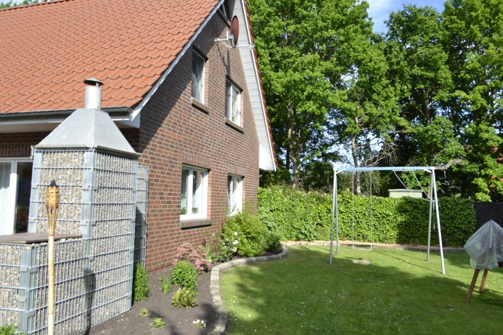 Erholungsgebiet Barßel, erstklassiges, neuwertiges Familiendomizil mit Carport und Garage I Exposé Nr.: 128/20
