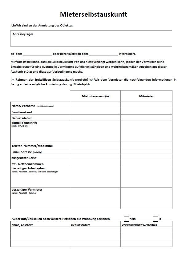 Mietschuldenfreiheitsbescheinigung Berlin