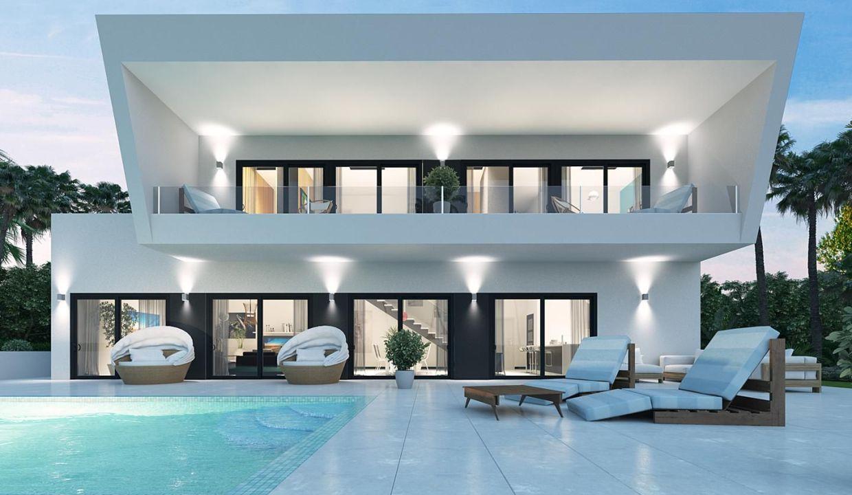 Villa moderne à Guadalmina alta