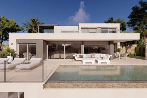 Villa de luxe de 3 chambres en vente Benitachell, Espagne € EUR Espagne-4