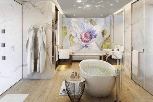 Villa de luxe avec parcours de golf et spa-5