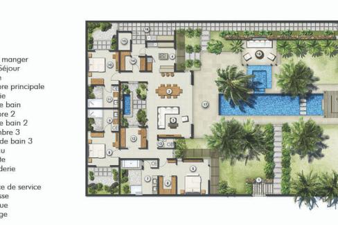 villas du Clos du Littoral.ile Maurice-18