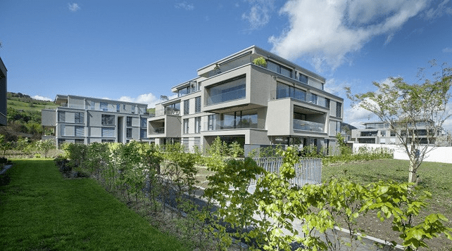 Architecture : Appartements En Attique Du Giessenpark, Münsingen