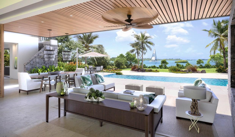 Anahita Premium Villa par MAD - Vue terrasse