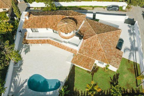 Magnifique villa au style contemporain à Guadalmina Alta | Marbella
