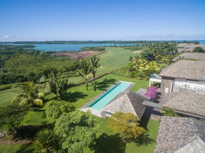 villas de luxe à l'ile Maurice