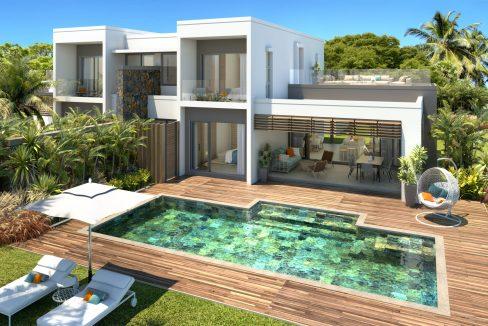 Villa Emeraude CGI