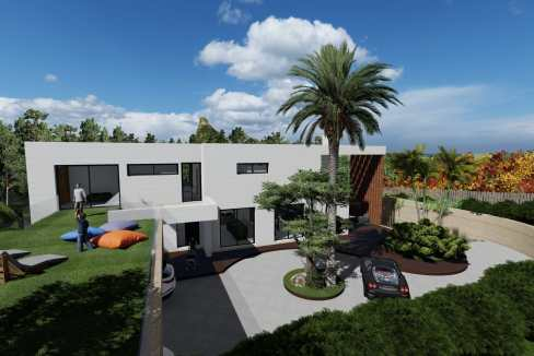 Villas au style architectural contemporain2