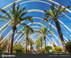 l'umbracle de Valence dans les jardins de la Turia