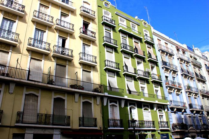 immeuble russafa valence en Espagne