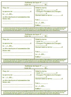 Quittance De Loyer Excel : quittance, loyer, excel, Quittance, Loyer, Modèle, Gratuit, [2021]